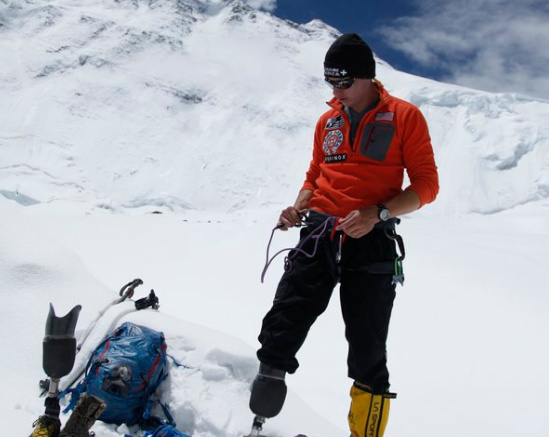 Marine Vet Becomes 1st Combat Amputee To Climb Mt Everest