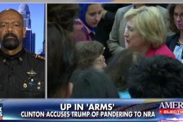 Sheriff David Clarke Takes On Hillary & Her Hypocrisy