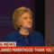 "Hillary To Planned Parenthood: ""I Will Always Have Your Back"