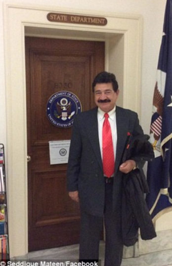 Orlando Terrorist's Father Backed Taliban, Visited & Met With Members Of Congress, People In State Dept