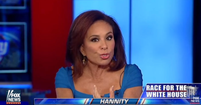 Watch Judge Jeanine Totally Annihilate Hillary