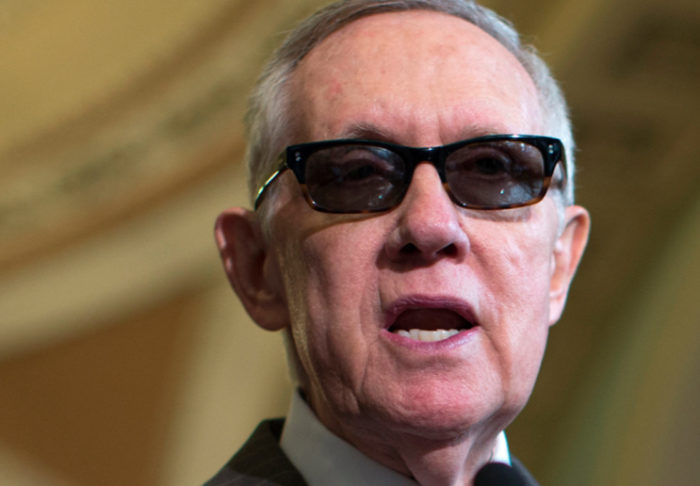 Harry Reid Caught Blatantly Lying On Senate Floor