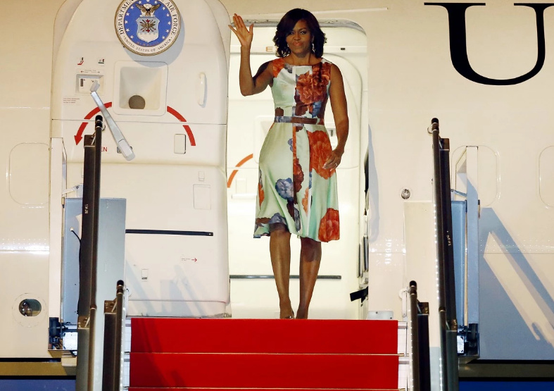 Michelle Taking Her Mother And Kids On Another Taxpayer Funded Vacation