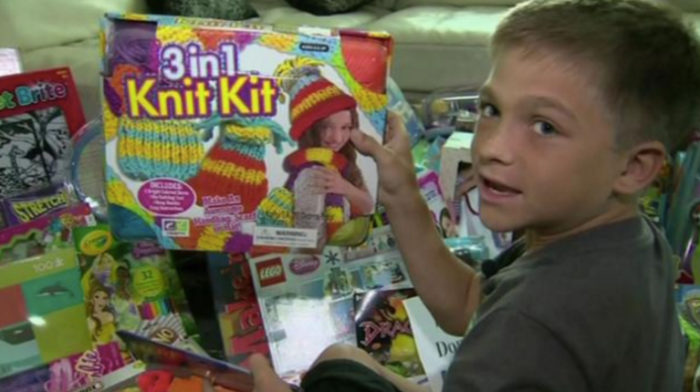 Sick 10 Year Old Boy Launches Toy Drive For Hospital
