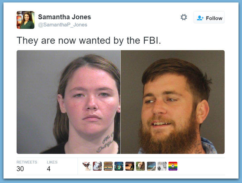 FBI Searching For Arkansas Muslim Couple After Arrested & Released For Making Terroristic Threats