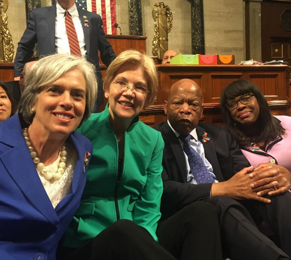 House Democrat Sit-In Shows No Signs Of Stopping