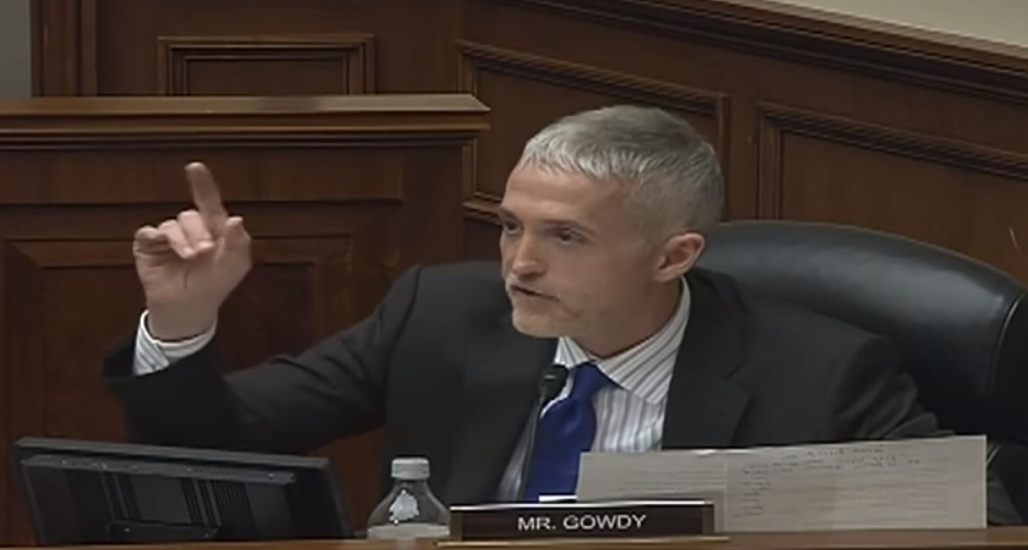 Watch Trey Gowdy Obliterate Obama Official Over 2nd Amendment