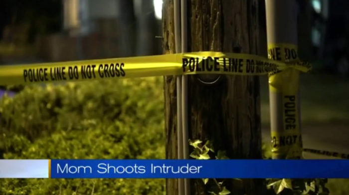 Mom Shoots & Kills Intruder In Her Child's Bedroom