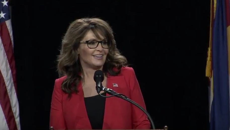 Sarah Palin Blasts #NeverTrumpers In FANTASTIC Speech At Western Conservative Summit!