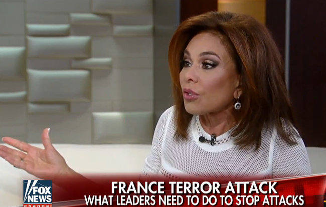 Judge Jeanine Unloads On Obama