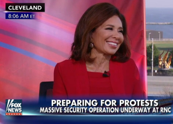 Judge Jeanine: Security On High Alert For RNC