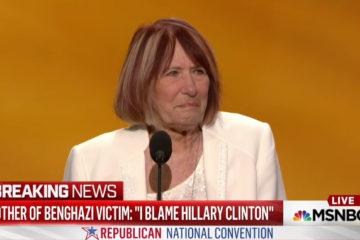 "Mother Of Benghazi Victim: ""I Blame Hillary Clinton"""