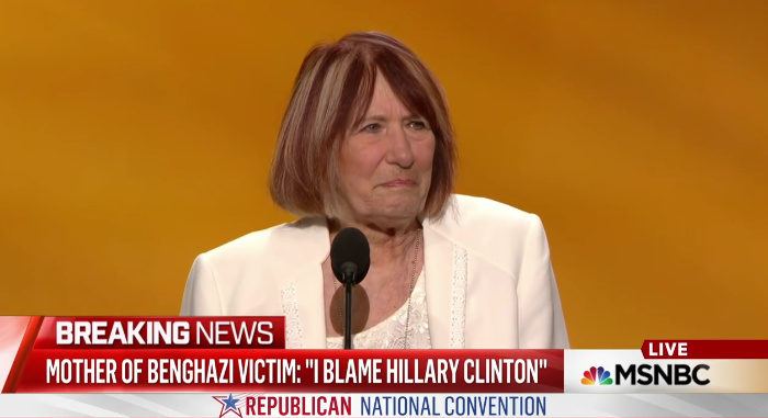 "Mother Of Benghazi Victim: ""I Blame Hillary Clinton"""