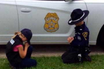 Police Officer's Children Caught Doing This...