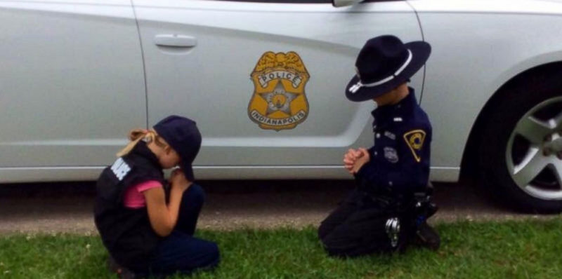 Police Officer's Children Caught Doing This...
