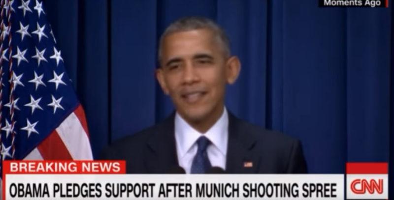 Obama Jokes During Statement On German Terror Attack