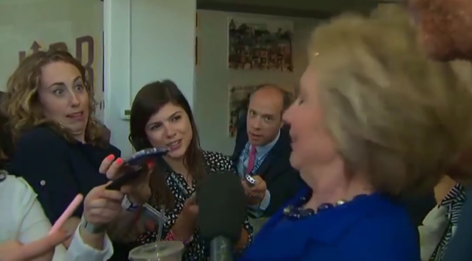 Wow! Did Hillary Suffer A Seizure On Camera Or Just Spaz Out?
