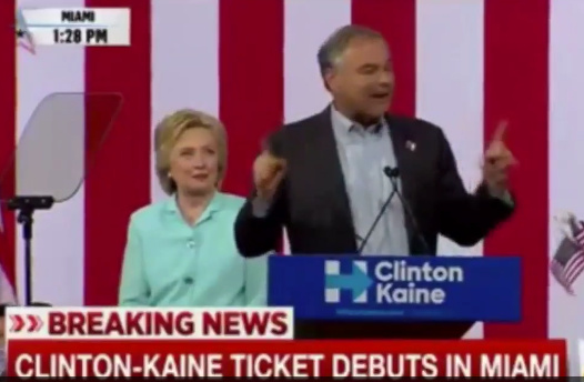 Tim Kaine Speaking In Spanish Promises Amnesty Plan In First 100 Days In Office