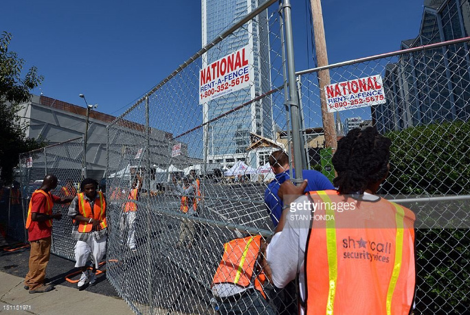 DNC Builds A Wall Around Their Convention
