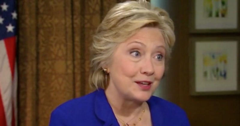 Delusional Hillary: Director Comey Said I Was Telling The Truth About Email
