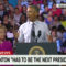 "Obama: ""You've Never Heard Hillary Demonize Other People"""