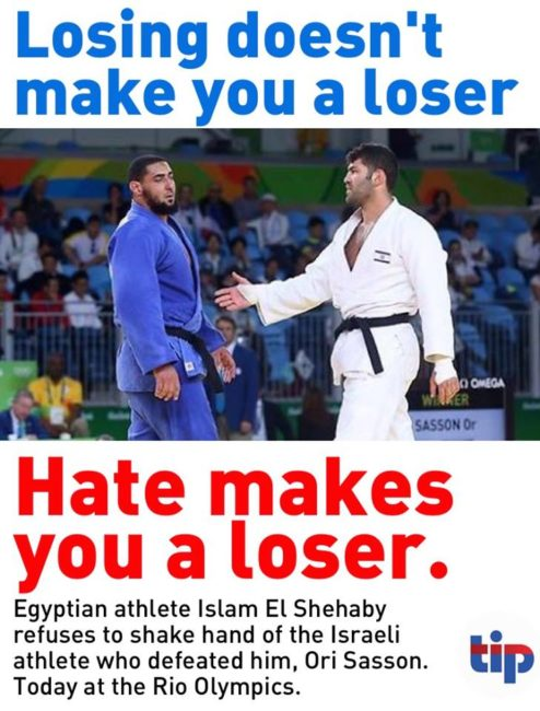 Egyptian Judo Star Refused To Shake Hands With Israeli At Olympics