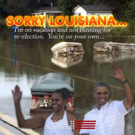 Obama 'Botched' Louisiana Response