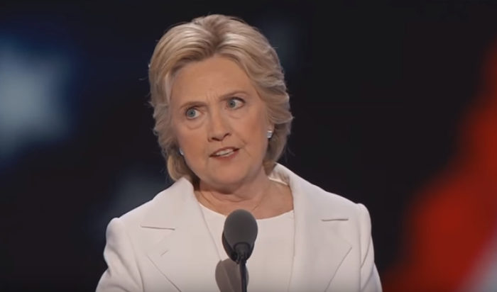 Hillary's Disgusting DNC Lie
