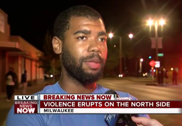 Man Explains Reason For Milwaukee Riots & It's NOT Racism & Police Brutality