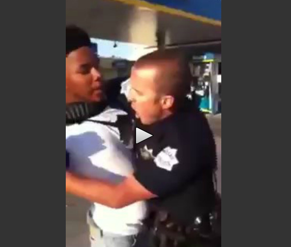 Idiotic Teenager Decides To Resist Fresno Cop (Caught On Video)