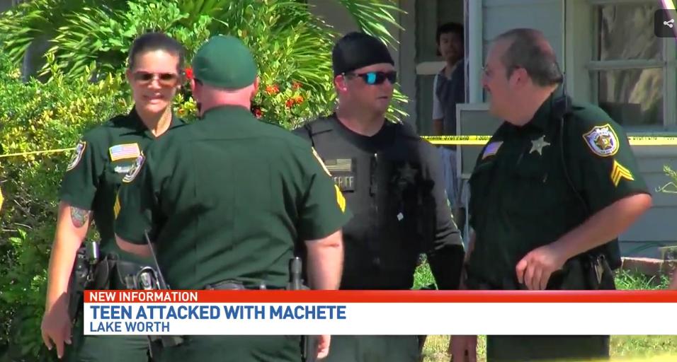 Machete-Wielding Teen Thug Hacks Boy Over Girl
