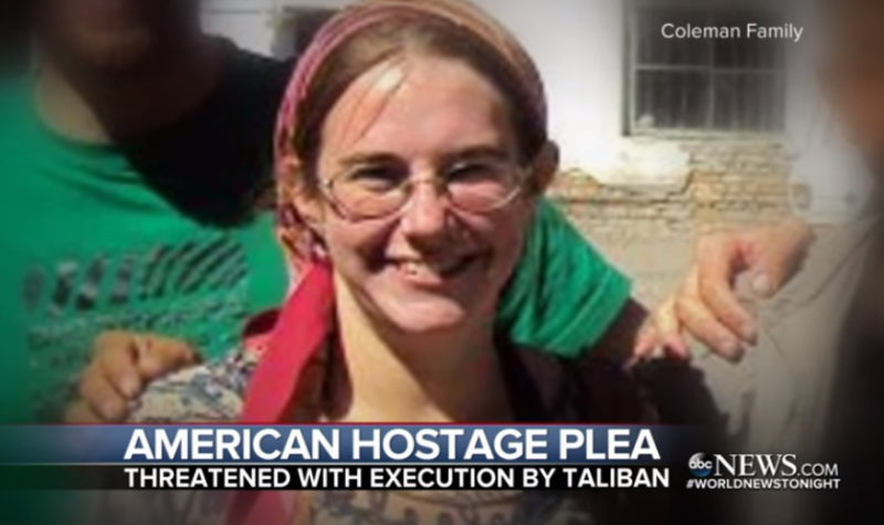 BREAKING VIDEO: American Hostage Begs For Rescue From The Taliban…