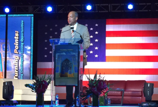 DHS Sec Jeh Johnson Speaks At Convention Of Group Tied To Hamas & Muslim Brotherhood