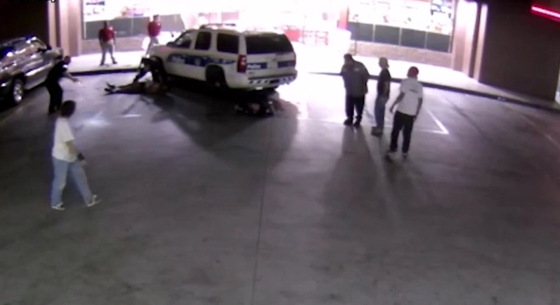 Man Tried To Run Over 3 Police Officers Targeting Them With His Car