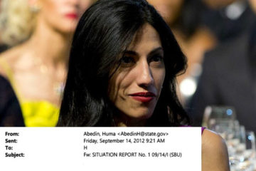 Huma Seems To Joke About Islamist Protests Two Days After Benghazi Attack In Email To Hillary