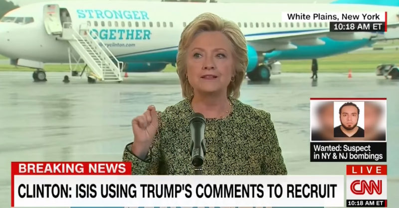 Reporter Asks Clinton This Question...