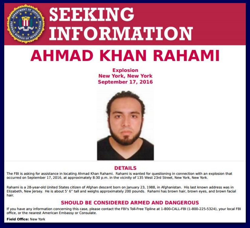 BREAKING: FBI Identifies Suspect In Recent Bombings
