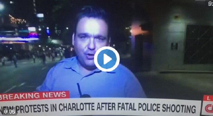 @edlavaCNN Just Attacked Live On TV in Charlotte