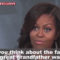 Michelle Plays The Slave Card Again! (Video)