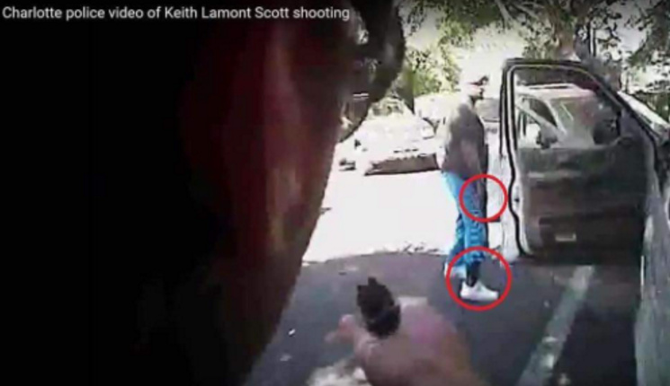 Charlotte Police Release Video Of The Keith Scott Shooting