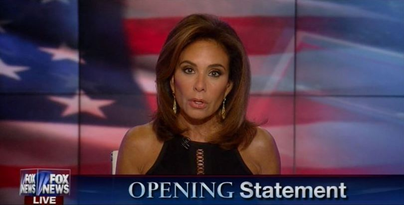 Judge Jeanine Tears Hillary Clinton To Pieces!