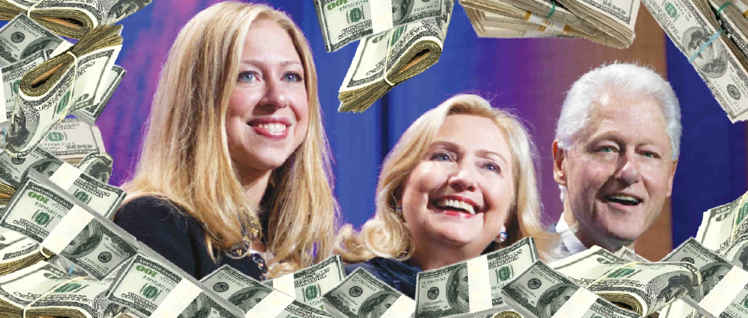 Only 5.7 Percent Of Clinton Foundation Budget Actually Went To Charitable Grants