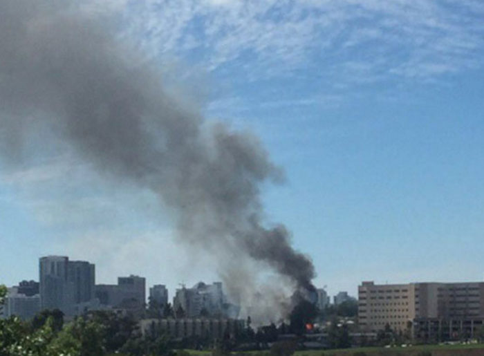 Huge Explosion Reported At San Diego Navy Hospital