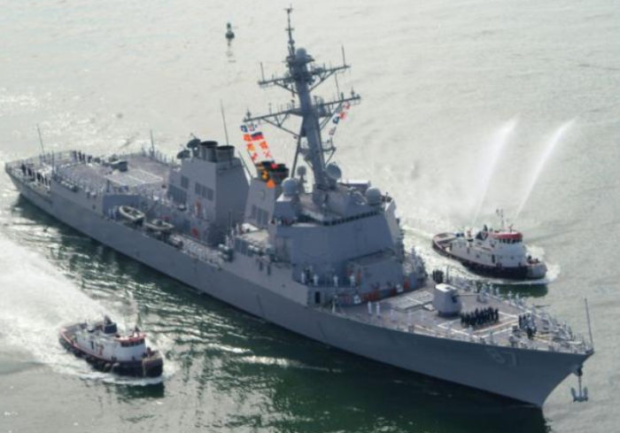 U.S. Navy Destroyer Fired On Again With Missiles From Yemen