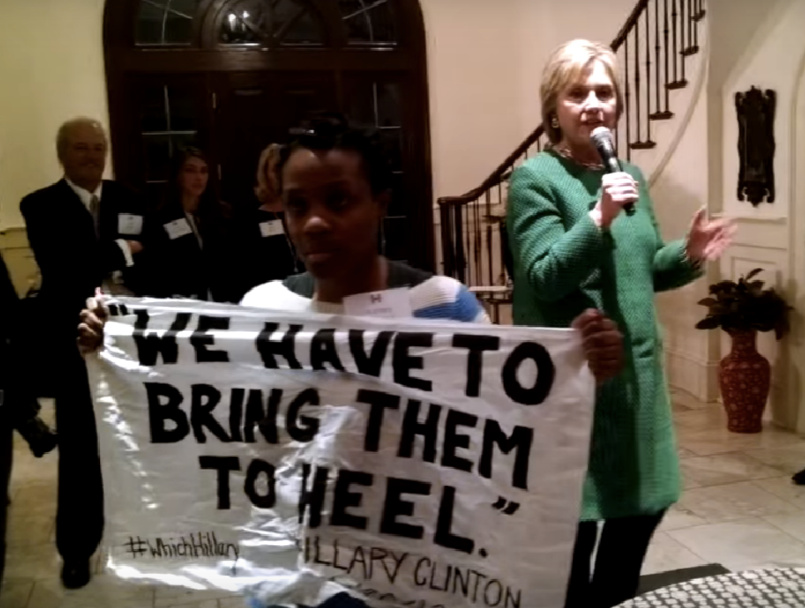 Hillary & BLM Radicals Clashed In Private Meeting