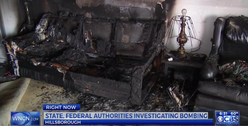 Domestic Terrorism: Republican HQ Firebombed In North Carolina