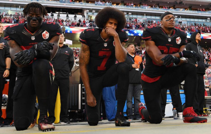 NFL National Anthem Protests Sink TV Ratings To Five-Year Low