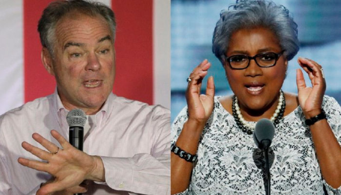 Wikileaks Teased October Surprise For Tim Kaine & DNC Chair Donna Brazile