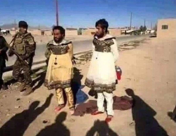 Cowardly ISIS Jihadis Caught Fleeing Mosul Disguised In Women's Clothing