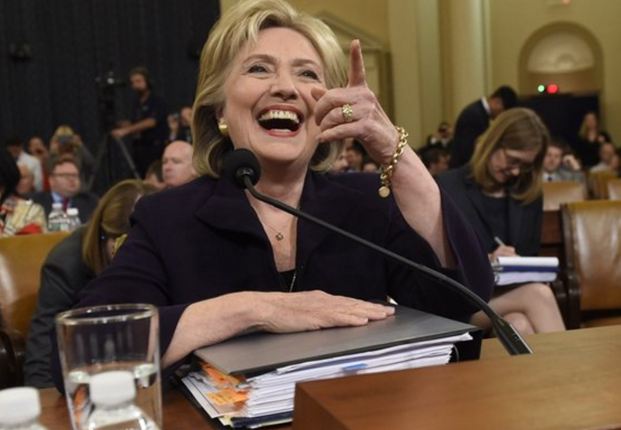 Hillary Busted! Just A Little Locker Room Talk (Audio)